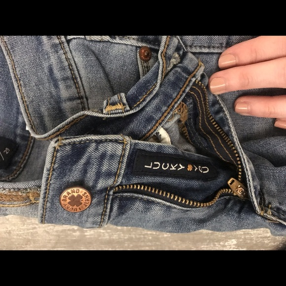 Lucky Brand Denim - Lucky brand cropped jeans